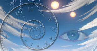 Healing people from far using clairvoyance